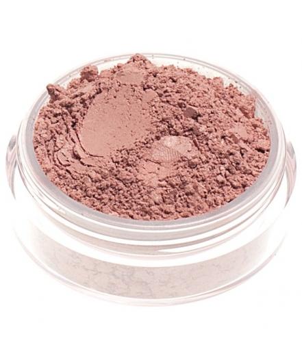 Fard in polvere minerale rosa caldo neutro satinato