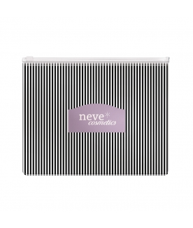 """Stripes"" Makeup Pochette"