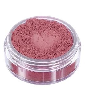 Fard in polvere minerale rosa mattone opaco