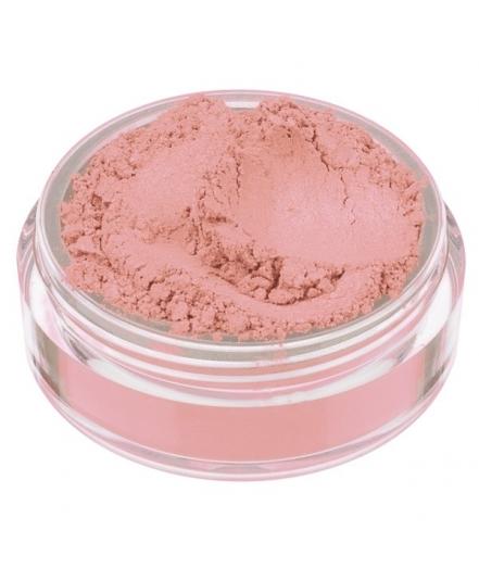 Fard in polvere minerale rosa pesca satinato