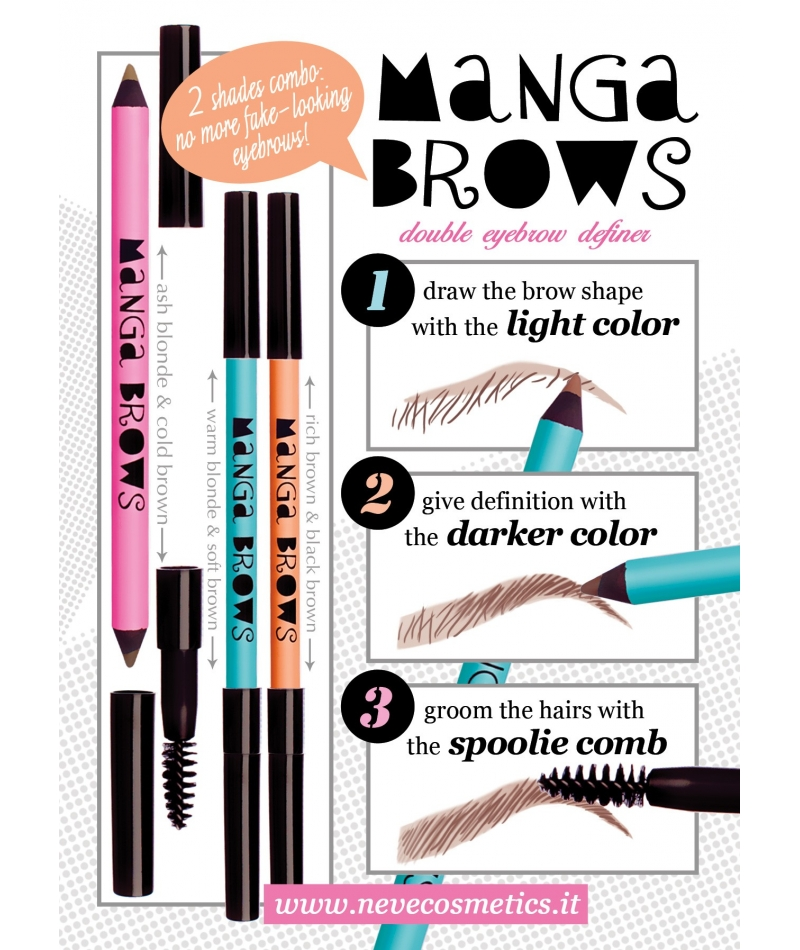 Manga Brows Light Copper Henna Red
