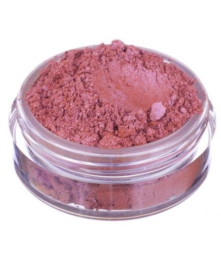 Fard in polvere minerale rosa mattone satinato