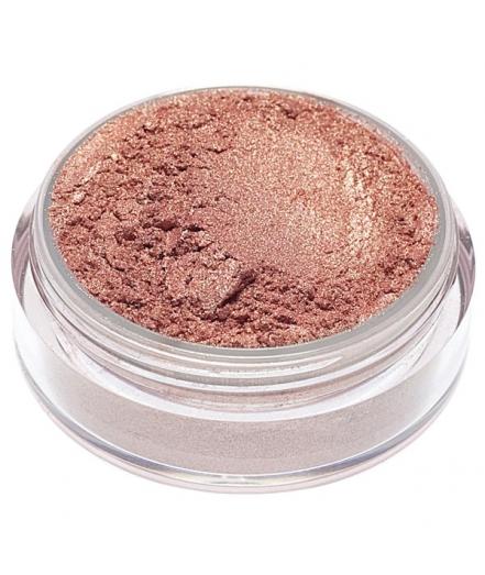 Fard in polvere minerale rosa abbronzato luminoso