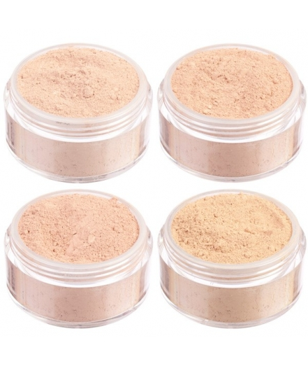Light skin mineral foundation mini set