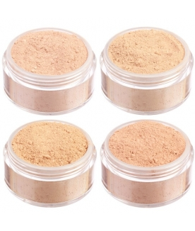 Medium skin mineral foundation mini set