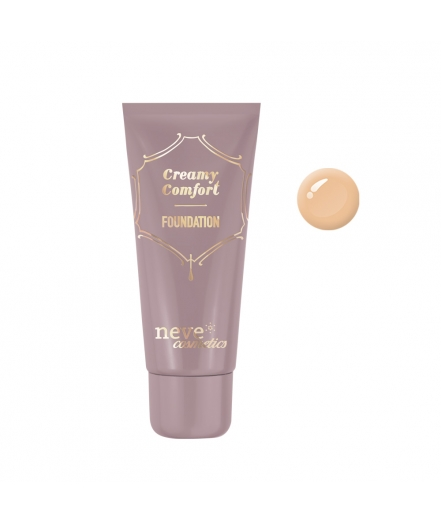 Creamy Comfort Tan Warm foundation