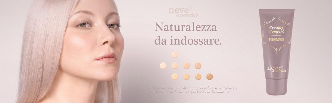 Creamy Comfort, il primo fondotinta liquido Neve Cosmetics