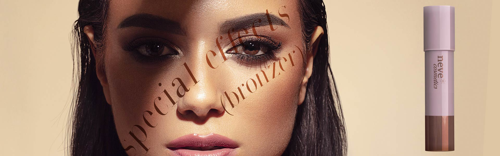 Special Effects Bronzer: the face sticks that emulate the warm glow of the healthiest tan and the fascinating shadows of professional contouring.