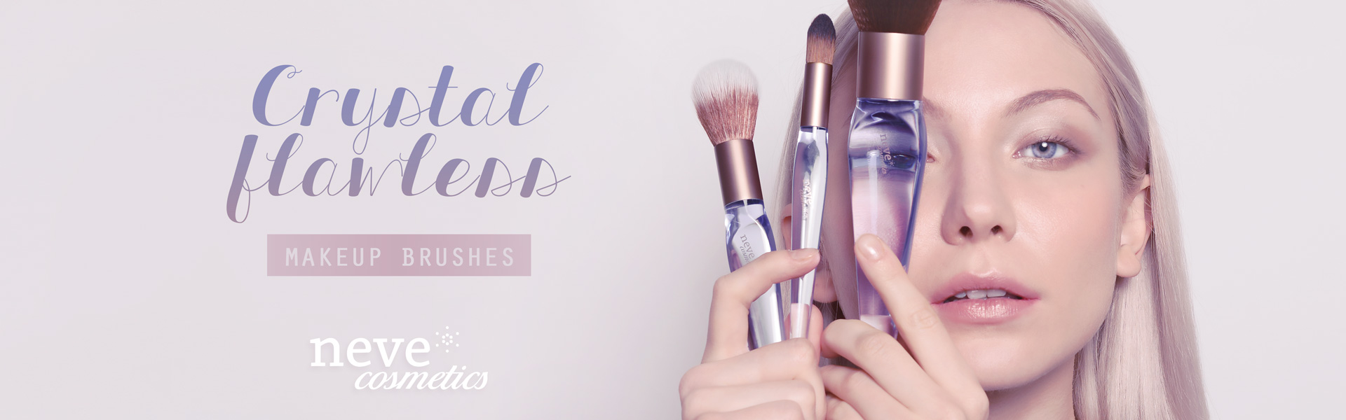 Crystal Flawless cruelty free makeup brushes
