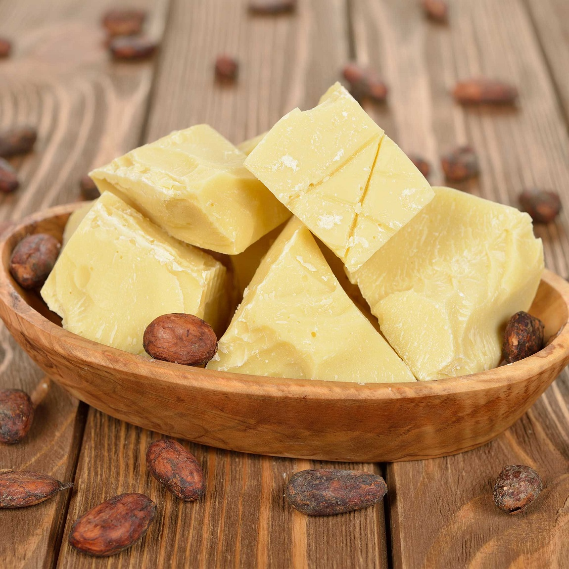 The benefits of organic cocoa butter