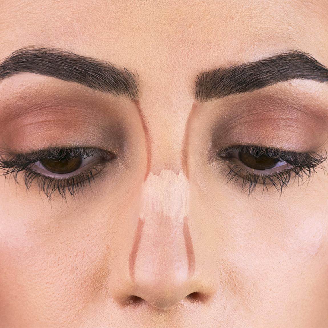 Contouring naso: un esempio chiaro