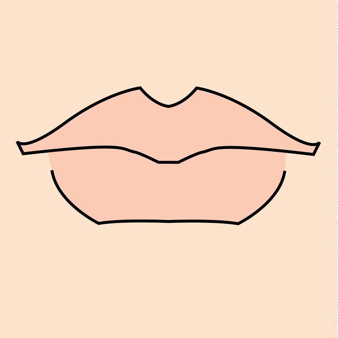 come si fa il contouring delle labbra grosse
