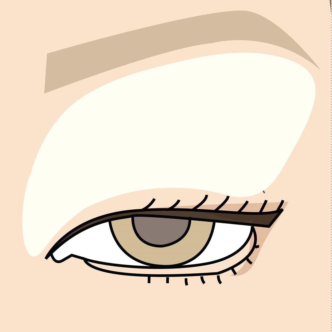 come si realizza il contouring degli occhi infossati