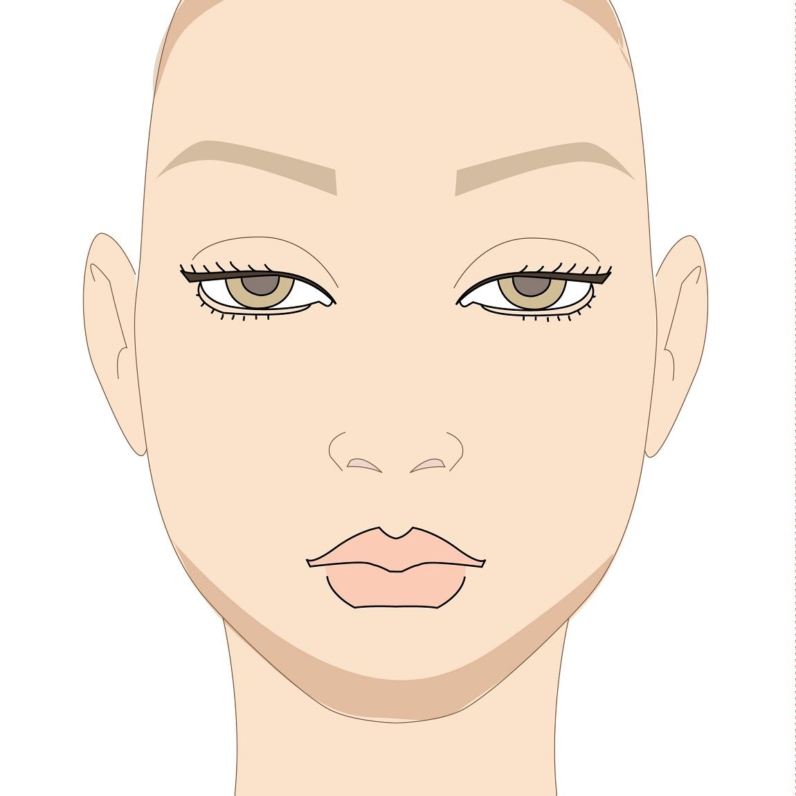 come si fa il contouring del viso lungo