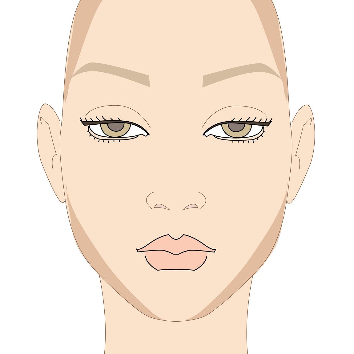 come si realizza il contouring del viso quadrato