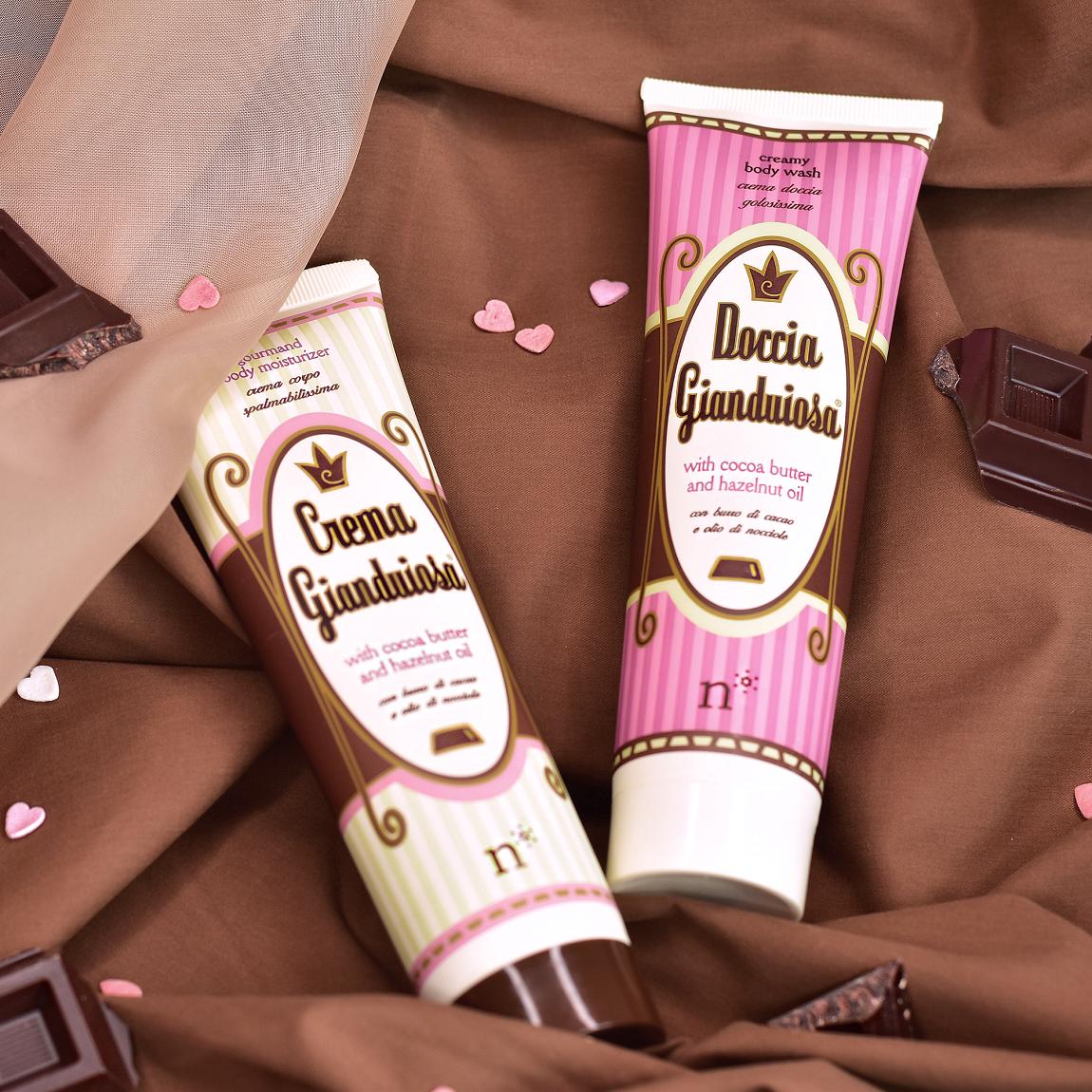 Gianduiosa: la crema corpo al burro di cacao e profumo di cioccolato