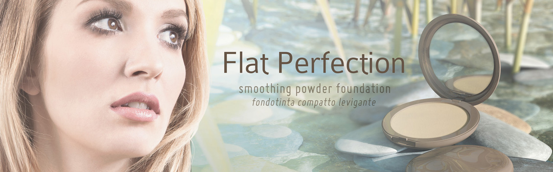 Flat Perfection foundations and powders
