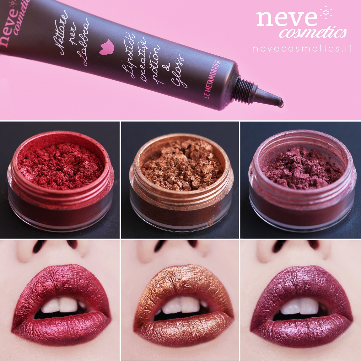 How to create beautiful lipsticks with Nectar for lips.