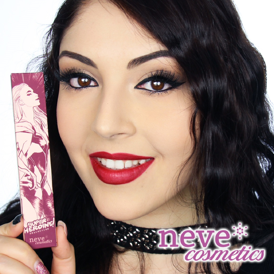 The design that Sara Pichelli created for Neve Cosmetics.