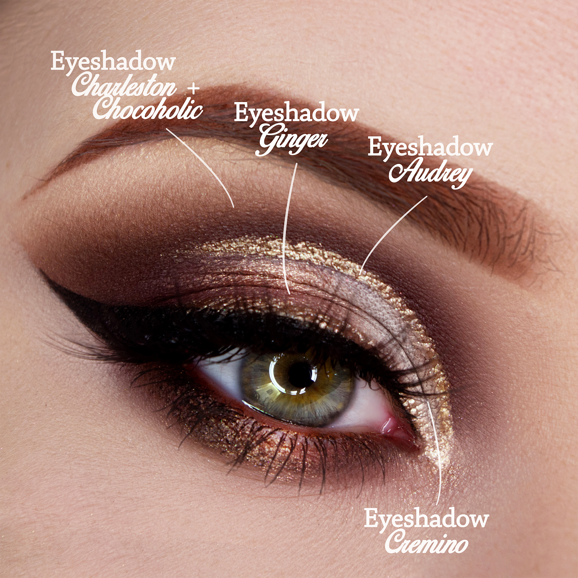 Eye makeup hazel light: the guide to recreate it step by step