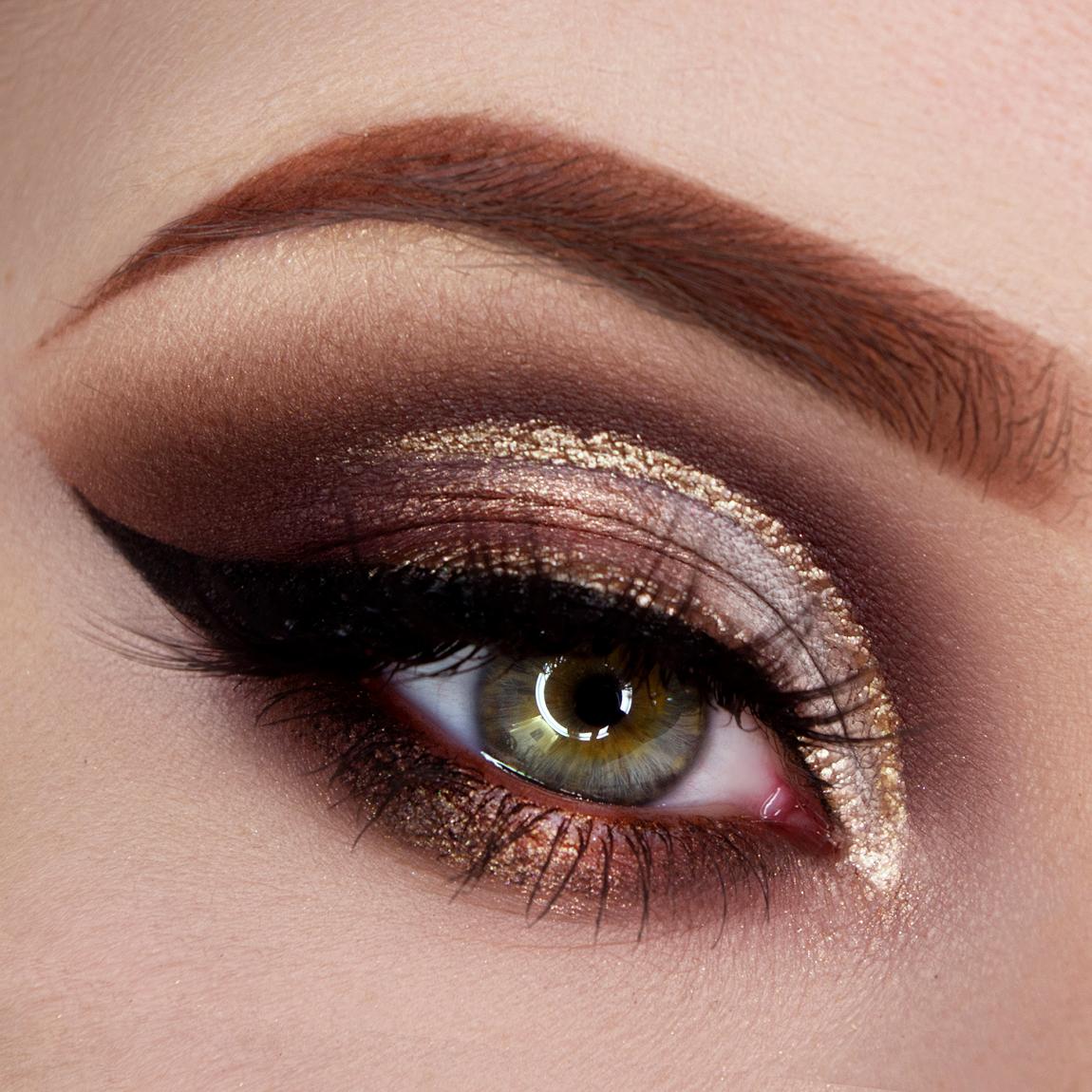 Makeup tutorial per realizzare un trucco illuminante color cioccolato e nocciola